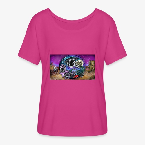 Mother CreepyPasta Land - Women's Flowy T-Shirt