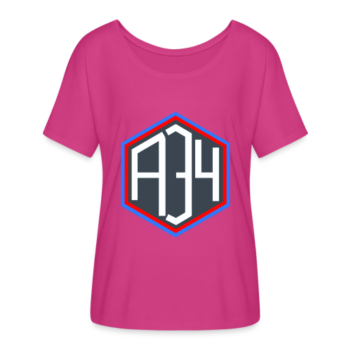 Adrian 34 LOGO - Women's Flowy T-Shirt