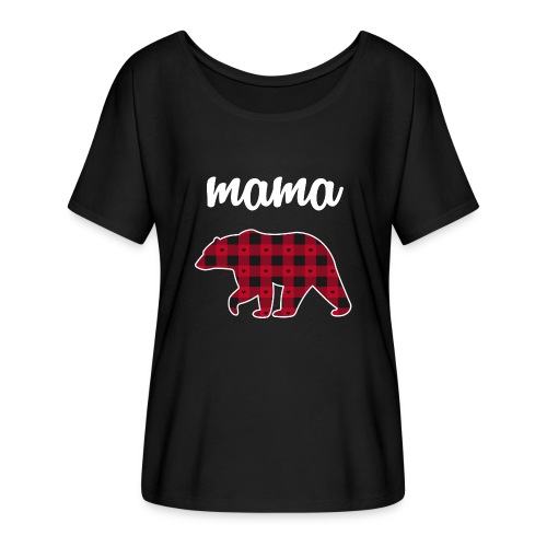 Mama Bear - Women's Flowy T-Shirt