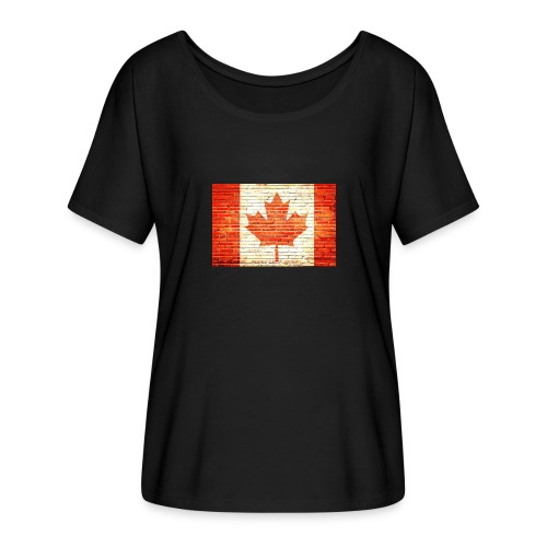 Canada flag - Women's Flowy T-Shirt
