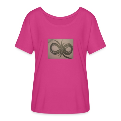 Infinity - Women's Flowy T-Shirt