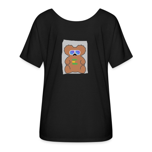 Aussie Dad Gaming Koala - Women's Flowy T-Shirt