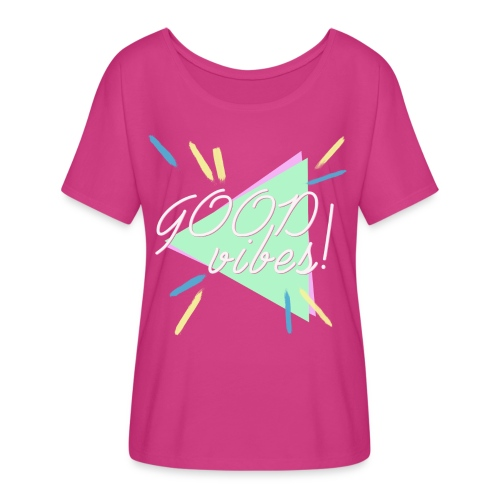 good vibes - Women's Flowy T-Shirt