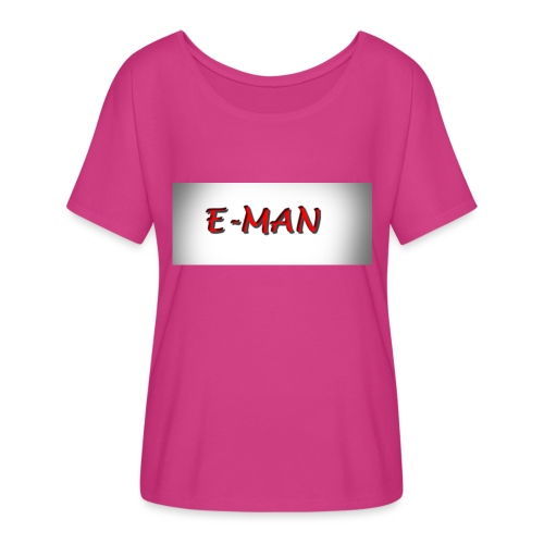 E-MAN - Women's Flowy T-Shirt
