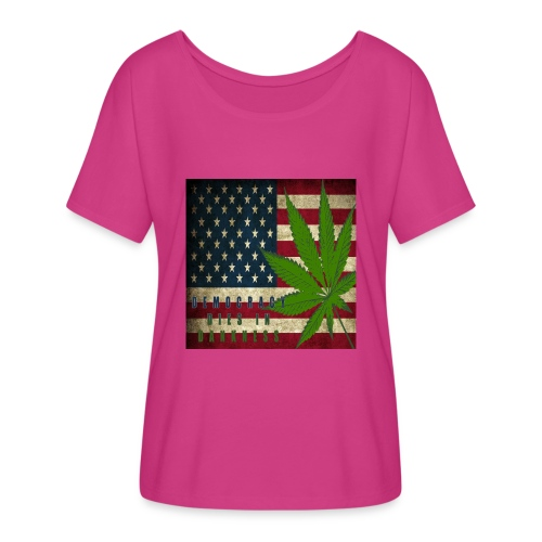 Political humor - Women's Flowy T-Shirt