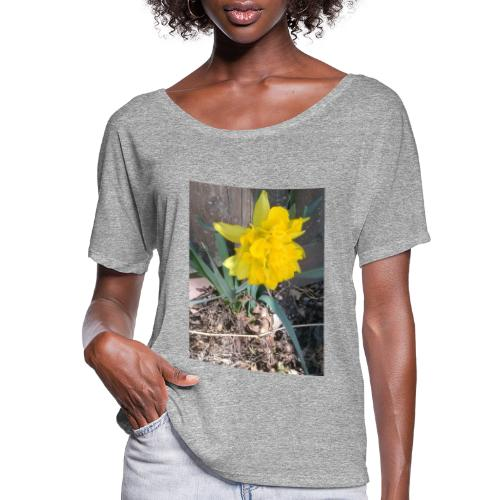YELLOWFLOWER by S.J.Photography - Women's Flowy T-Shirt