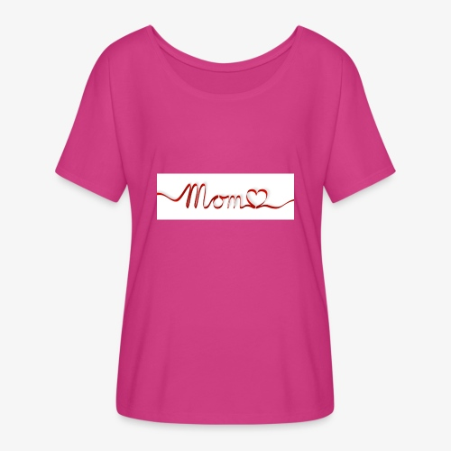 Moms Rock - Women's Flowy T-Shirt