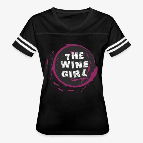 The Wine Girl - Women's Vintage Sport T-Shirt