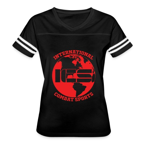 Red ICS Logo - Women's Vintage Sport T-Shirt
