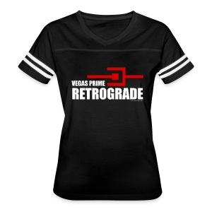 Vegas Prime Retrograde - Title and Hack Symbol - Women's Vintage Sport T-Shirt