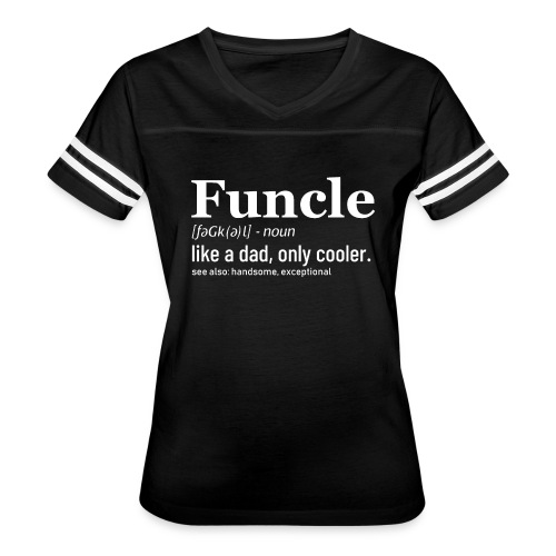 Funcle shirt - Women's Vintage Sport T-Shirt