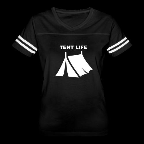 Tent Life - Women's Vintage Sport T-Shirt
