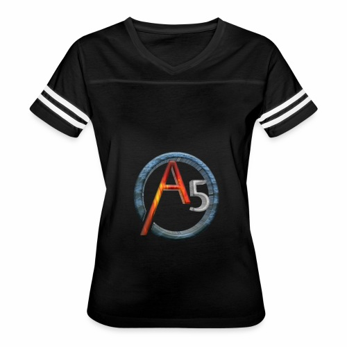 The Transparent Elemental A5's Logo - Women's Vintage Sport T-Shirt