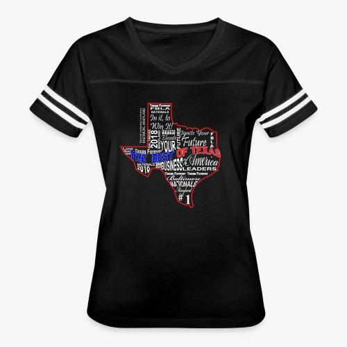 FBLA-The Best of Texas - Women's Vintage Sport T-Shirt