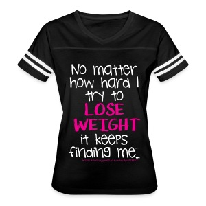 ...try to Lose Weight - Women's Vintage Sport T-Shirt