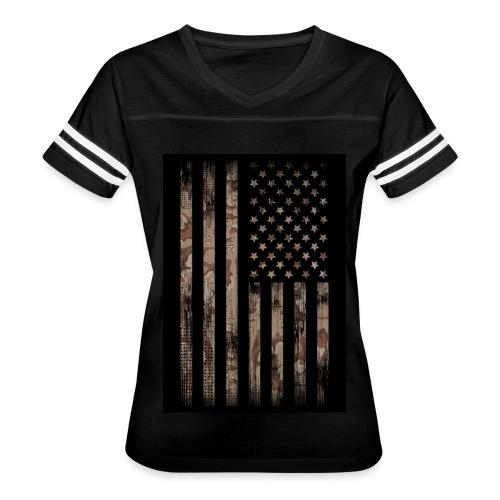 Camo Desert copy - Women's Vintage Sport T-Shirt