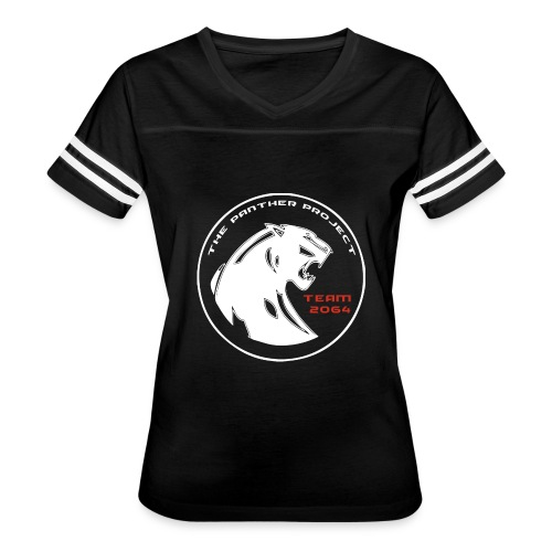 panthers white - Women's Vintage Sport T-Shirt