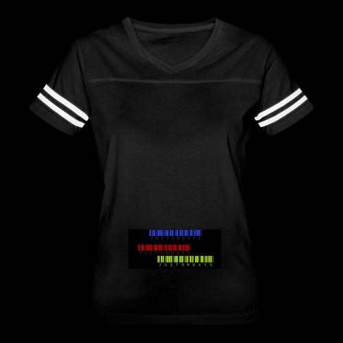 JUSTONDAYS 3x - Women's Vintage Sport T-Shirt
