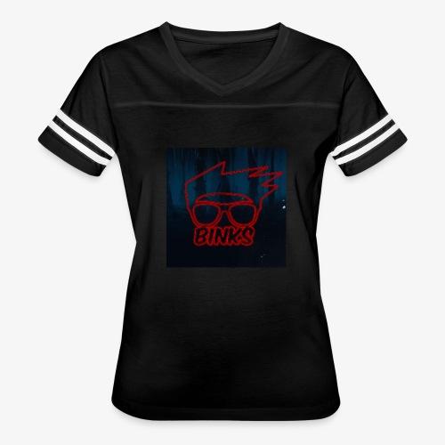 Binks Upside Down - Women's Vintage Sport T-Shirt