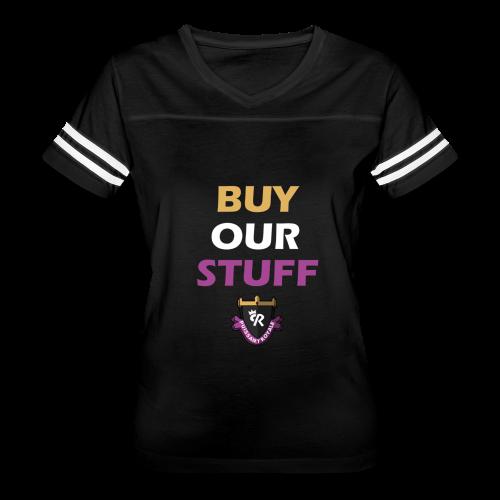 Buy Our Stuff Puissant Royale Logo - Women's Vintage Sport T-Shirt