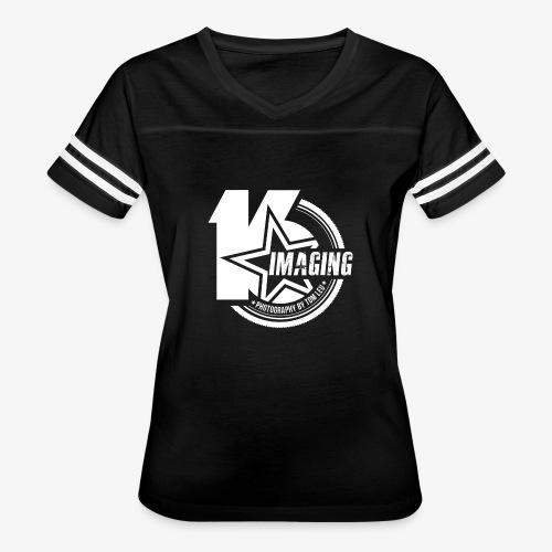 16 Badge White - Women's Vintage Sport T-Shirt