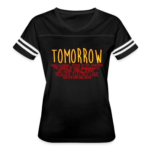 Tomorrow Album Design - Women's Vintage Sport T-Shirt