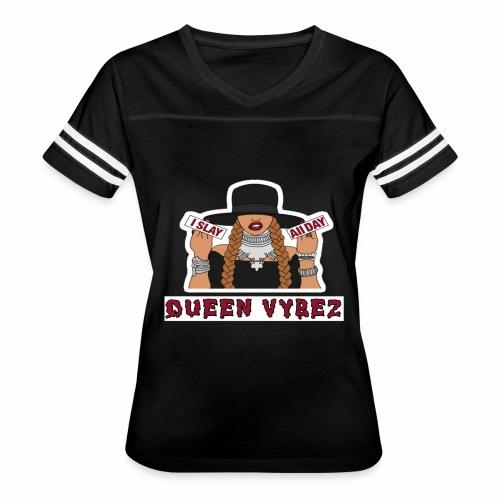 Qveen Vybez - Women's Vintage Sport T-Shirt