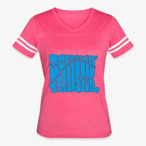 Screamin' Whisper Retro Logo - Women's Vintage Sport T-Shirt