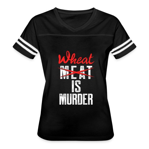 Wheat is Murder - Women's Vintage Sport T-Shirt