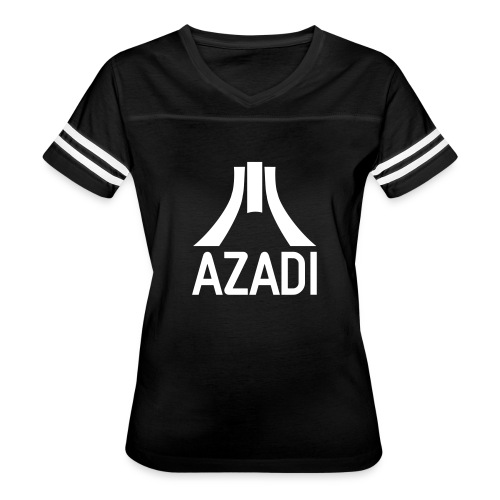 Azadi retro stripes - Women's Vintage Sport T-Shirt