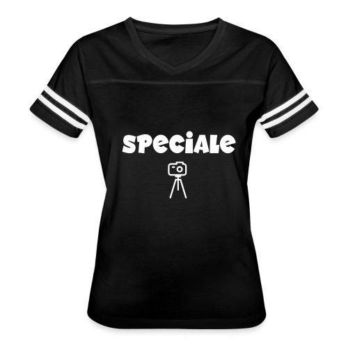 speciale cam white - Women's Vintage Sport T-Shirt