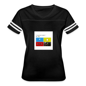 First shirt - Women's Vintage Sport T-Shirt