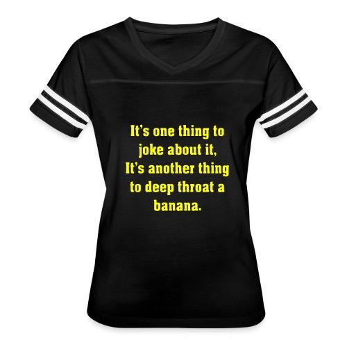 DT Banana - Women's Vintage Sport T-Shirt