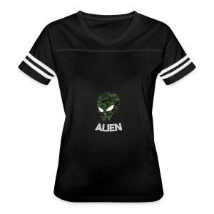 Military Alien - Women's Vintage Sport T-Shirt
