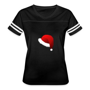 Carmaa Santa Hat Christmas Apparel - Women's Vintage Sport T-Shirt