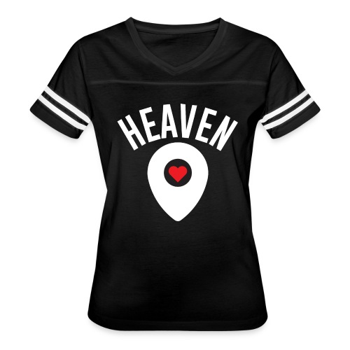 Heaven Is Right Here - Women's Vintage Sport T-Shirt