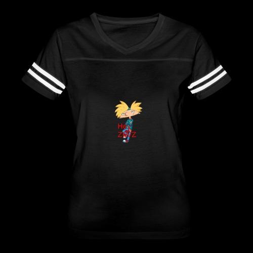 hey arnold zevz - Women's Vintage Sport T-Shirt