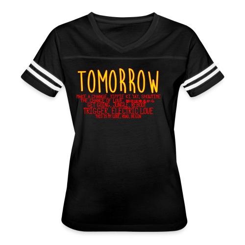 Tomorrow Album Design - Women's Vintage Sport T-Shirt