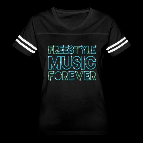 Freestyle Music Forever! - Women's Vintage Sport T-Shirt