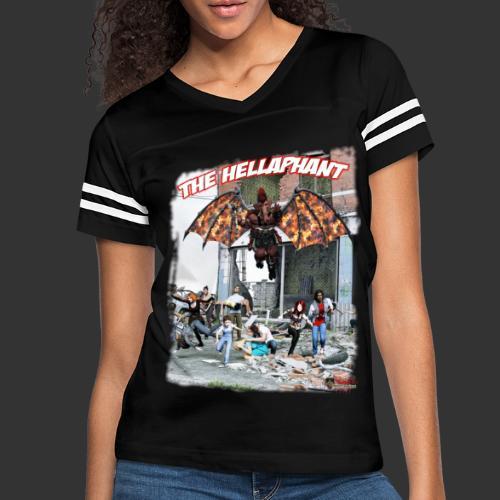 The Hellaphant Alternate Concept: Re-Issue - Women's Vintage Sport T-Shirt