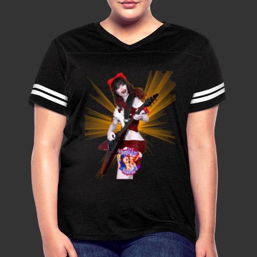 Happily Ever Undead: Crimson Snow Guitarist - Women's Vintage Sport T-Shirt
