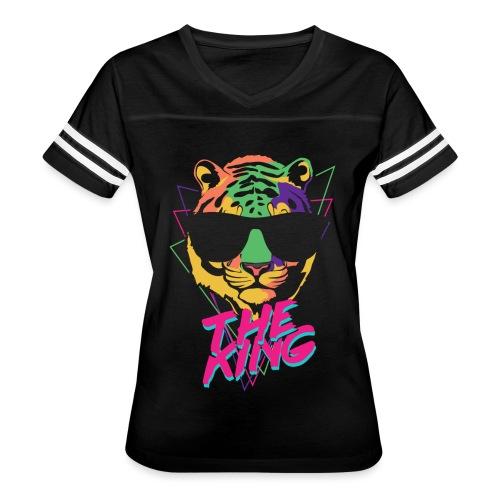 King Tiger - Women's Vintage Sports T-Shirt
