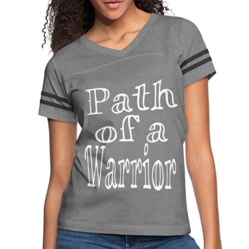 Path of a Warrior - Women's Vintage Sport T-Shirt