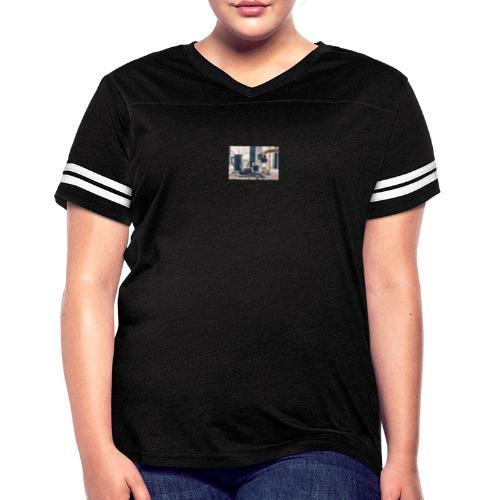 hot coffee - Women's Vintage Sports T-Shirt