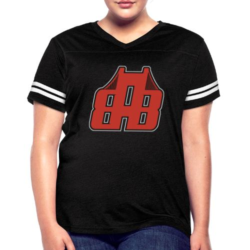 Bay Area Buggs Official Logo - Women's Vintage Sports T-Shirt