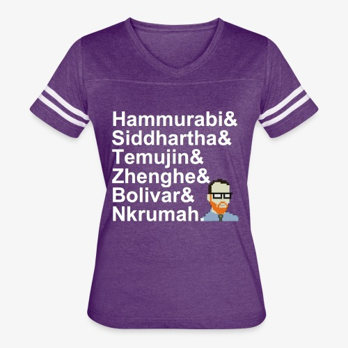 & AP World History Shirt - Women's Vintage Sport T-Shirt