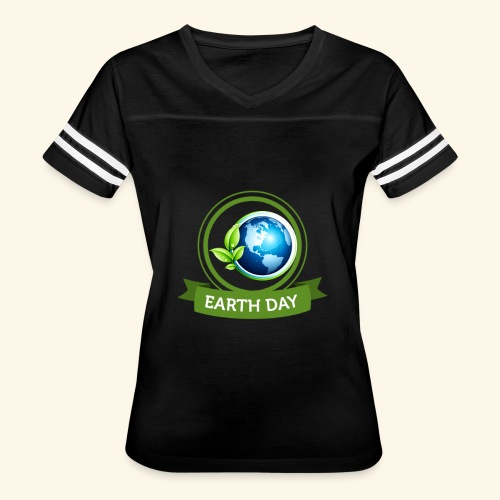 Happy Earth day - 3 - Women's Vintage Sport T-Shirt