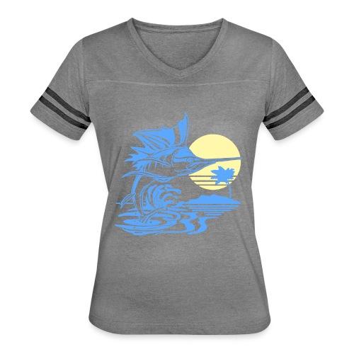 Sailfish - Women's Vintage Sport T-Shirt