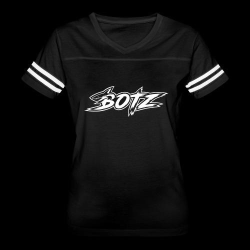 BOTZ White Logo - Women's Vintage Sport T-Shirt