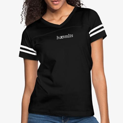 Homeless Pronunciation - Black - Women's Vintage Sport T-Shirt